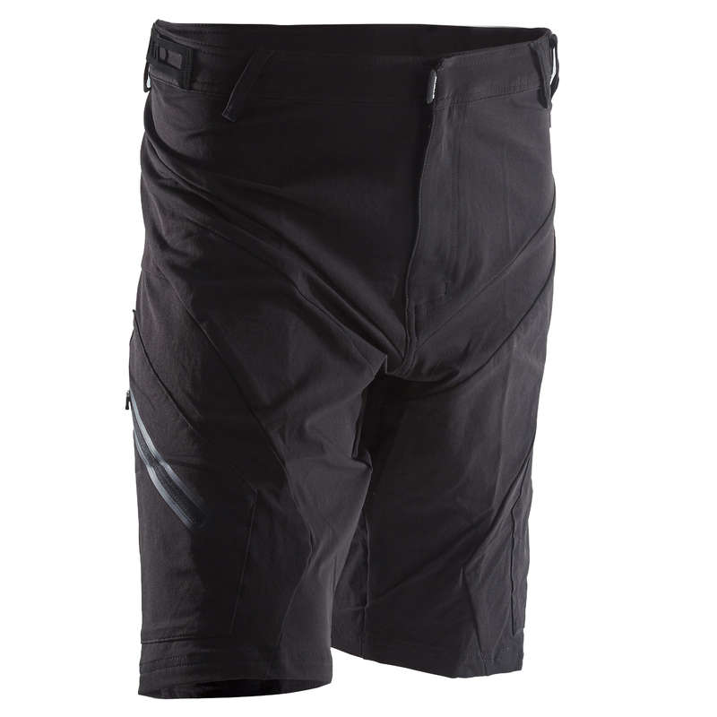 MEN WARM WEATHER ST MTB APPAREL Cycling - ST900 Mountain Bike Shorts - Black ROCKRIDER - Cycling