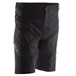 Mountainbike-Shorts ST 900 MTB Herren schwarz