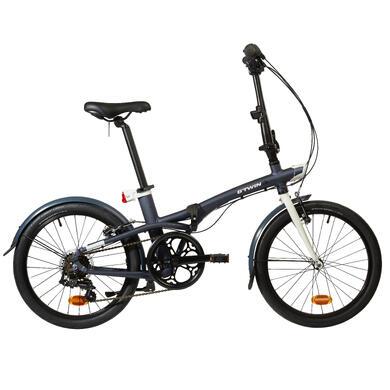 Tilt 500 Folding Bike - Blue