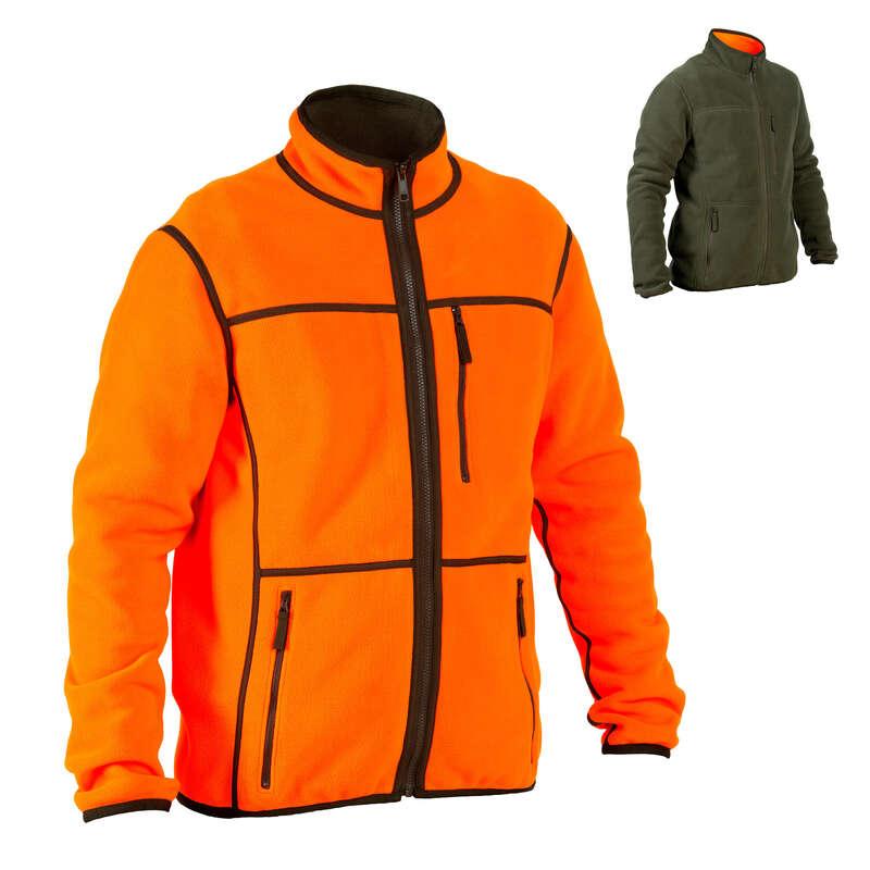 ABBIGLIAMENTO BATTUTA / POSTA FLUO Abbigliamento uomo - Pile double-face 500 fluo SOLOGNAC - Abbigliamento uomo