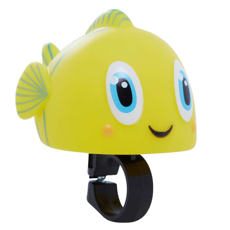 KIDS LEARNING BIKE ACCESSORIES 1-6 YEARS Cycling - Ocean Kids' Bike Horn B'TWIN - Bike Accessories