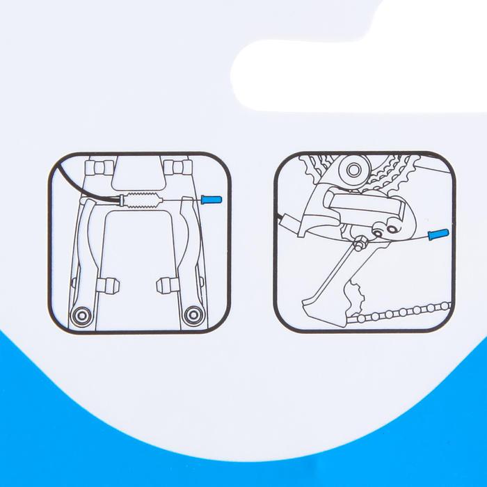 Endkappen für Brems- und Schaltzughüllen