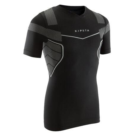 Keepdry 500 Adult Soccer Short-Sleeved Base Layer - Black