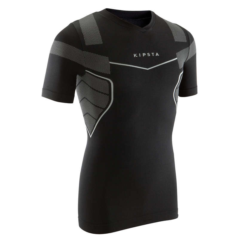 UNDERWEAR TEAM SPORT SENIOR Football - Keepdry 500 Adult - Black KIPSTA - Football Clothing