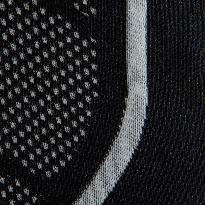 Camiseta térmica manga corta adulto Keepdry 500 negro
