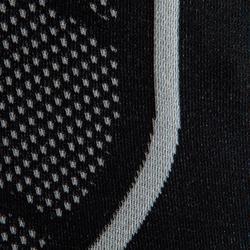 Ondershirt voor voetbal korte mouwen VW Keepdry 500 zwart