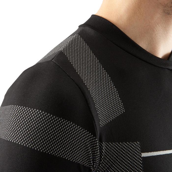 Thermoshirt Keepdry 500 met lange mouwen zwart unisex
