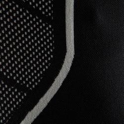 Funktionsshirt langarm Keepdry 500 atmungsaktiv Erwachsene schwarz