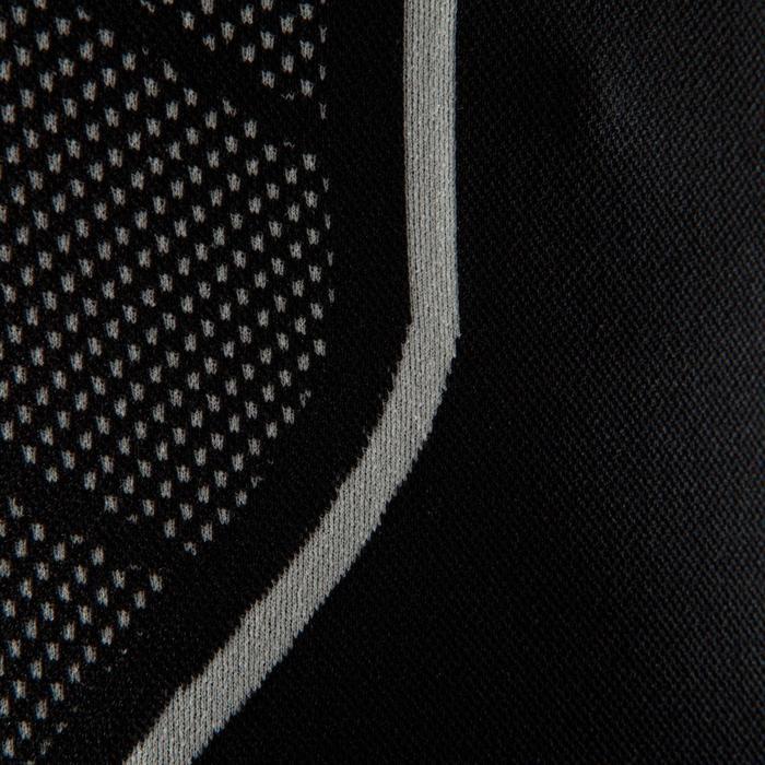 Funktionsshirt langarm atmungsaktiv Keepdry 500 Erwachsene schwarz