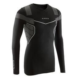 成人款長袖底層衣Keepdry 500-黑色