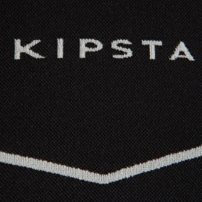 Ondershirt voor voetbal lange mouwen volwassenen Keepdry 500 zwart