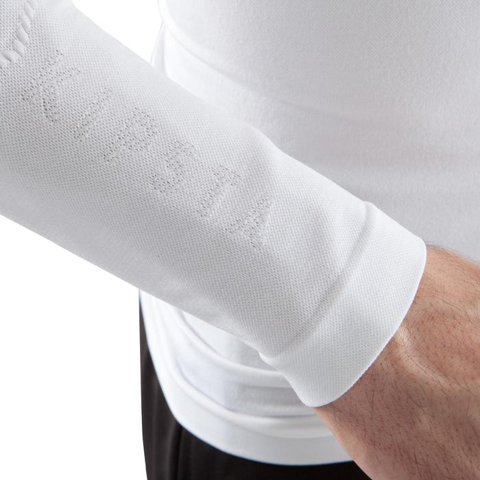 Funktionsshirt langarm atmungsaktiv Keepdry 500 Erwachsene weiß