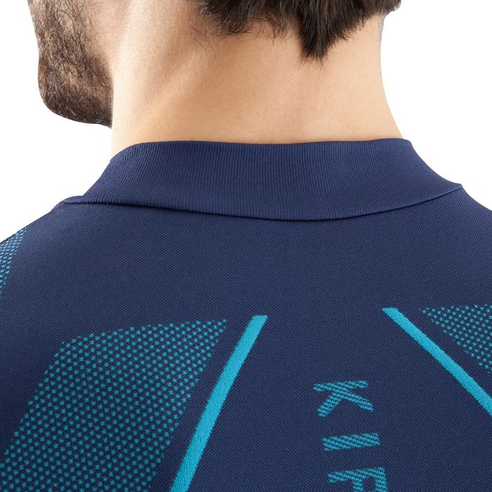 Keepdry 500 Adult Breathable Long-Sleeved Base Layer - Black/Blue