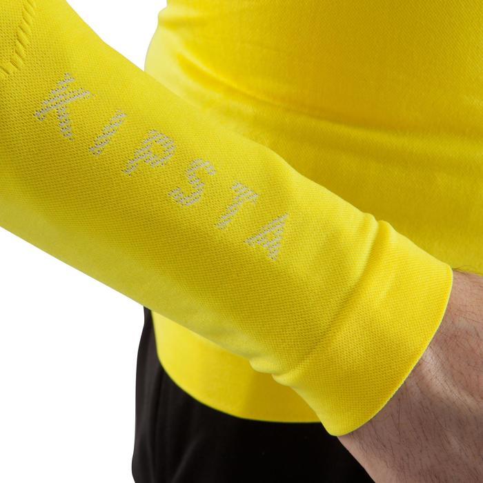 Funktionsshirt Keepdry 500 atmungsaktiv Erwachsene gelb