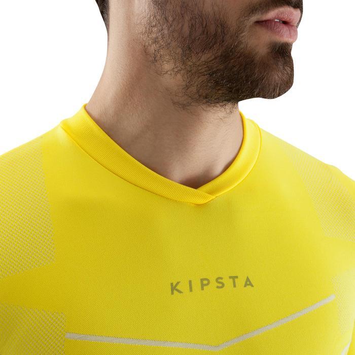 Thermoshirt Keepdry 500 met lange mouwen geel