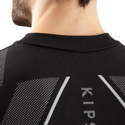 Camiseta térmica de manga larga adulto Keepdry 500 negro