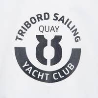 100 Men's Sailing Oilskin - White/Blue