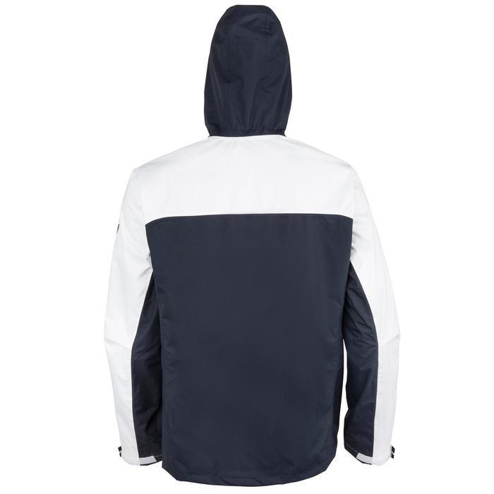 Zeiljas 100 voor heren, wit/blauw