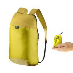 Supercompacte rugzak van 10 liter geel