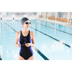 Glas op sterkte -4 voor zwembril 500 Selfit maat L getint