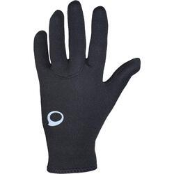 Gants de plongée en néoprène 2mm - SCD noir