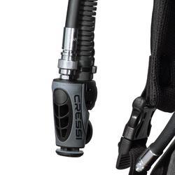 Gilet stabilisateur de voyage plongée bouteille Ultralight noir