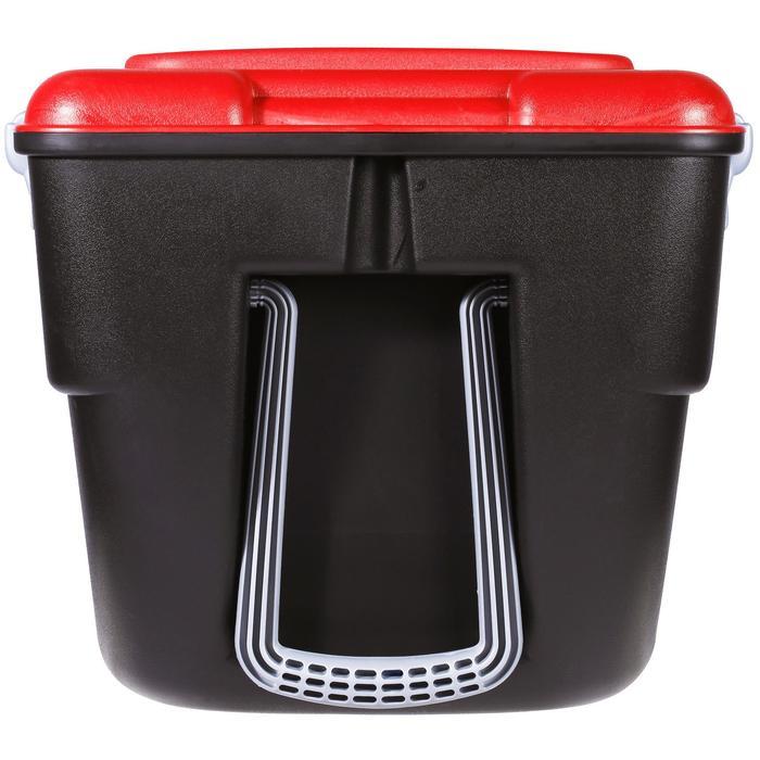 Malle de transport de plongée Discover 80 L noir/rouge - 1161593