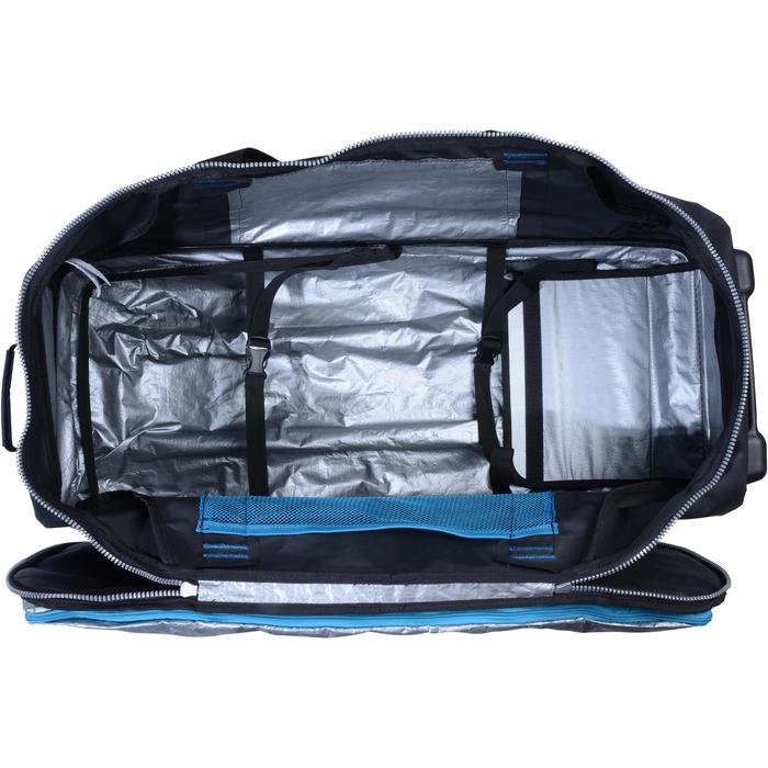 Sac de voyage de plongée bouteille coque rigide SCD 90 L noir/bleu - 1161597