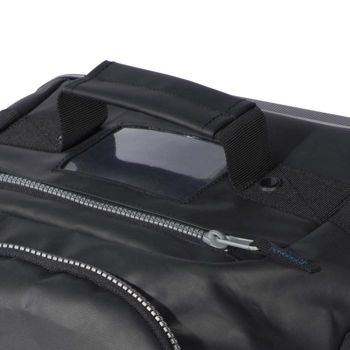 Sac de voyage de plongée bouteille coque rigide SCD 90 L noir/bleu - 1161613