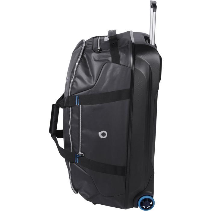 Duiktas / reistas met stijve schaal SCD 120 liter zwart/blauw