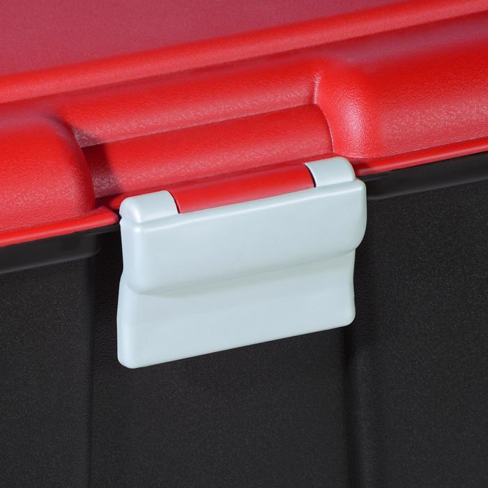 Malle de transport de plongée Discover 80 L noir/rouge - 1161654
