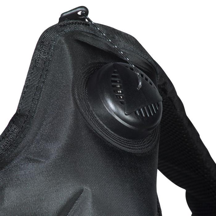 Gilet stabilisateur de voyage plongée bouteille Ultralight noir - 1161657