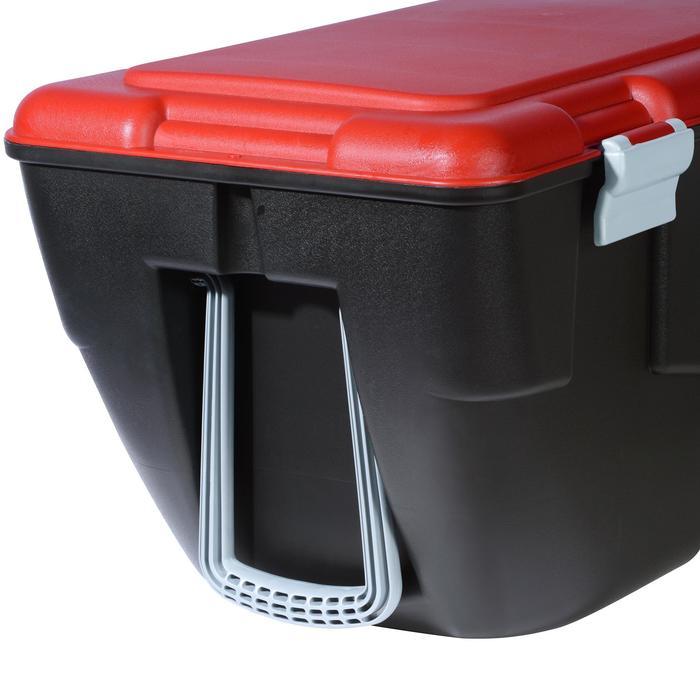 Malle de transport de plongée Discover 80 L noir/rouge - 1161658