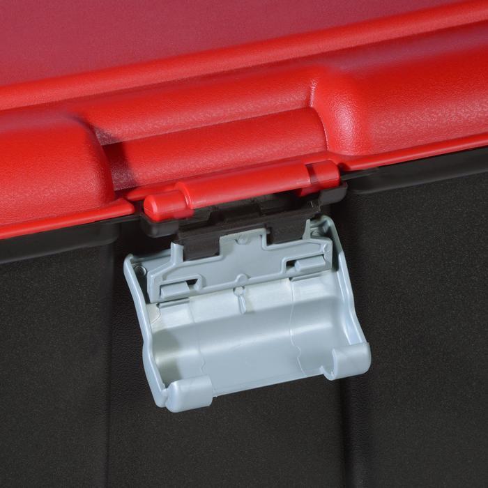Malle de transport de plongée Discover 80 L noir/rouge - 1161659