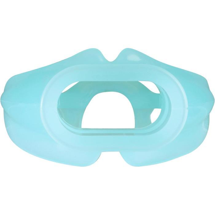 Mondstuk voor ademautomaat, voor dames/kinderen monodensiteit blauw