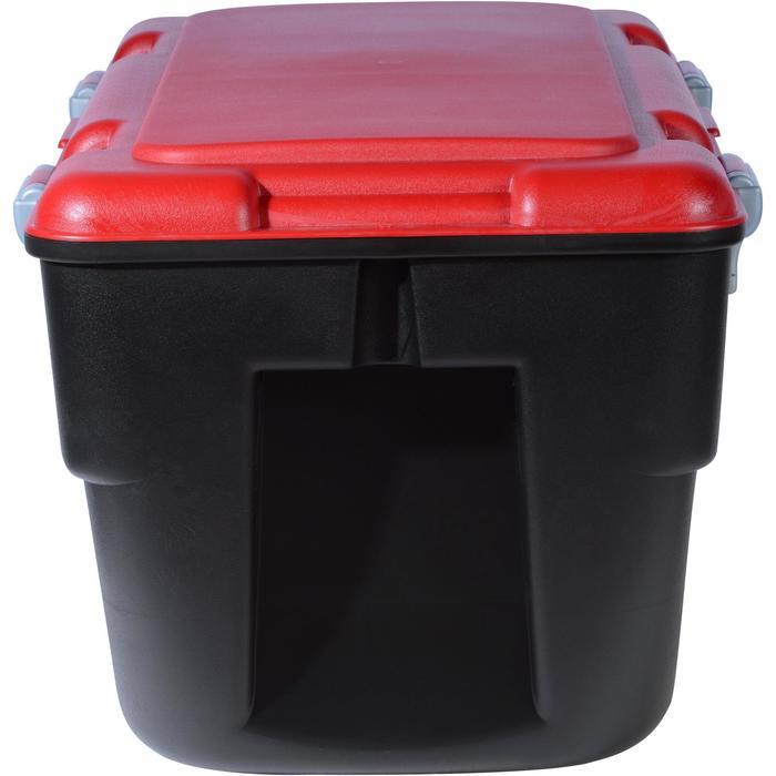 Malle de transport de plongée Discover 80 L noir/rouge - 1161674