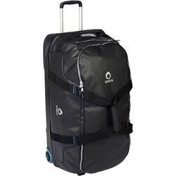 Tauchtasche Reisetasche 120Liter Trolley Hartschale schwarz/blau