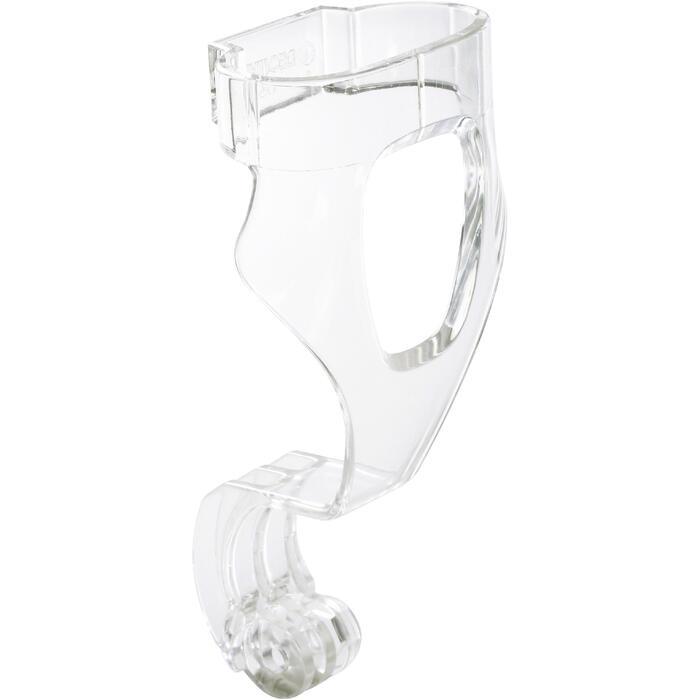 Camerabevestiging voor snorkelmasker Easybreath transparant - 1161694