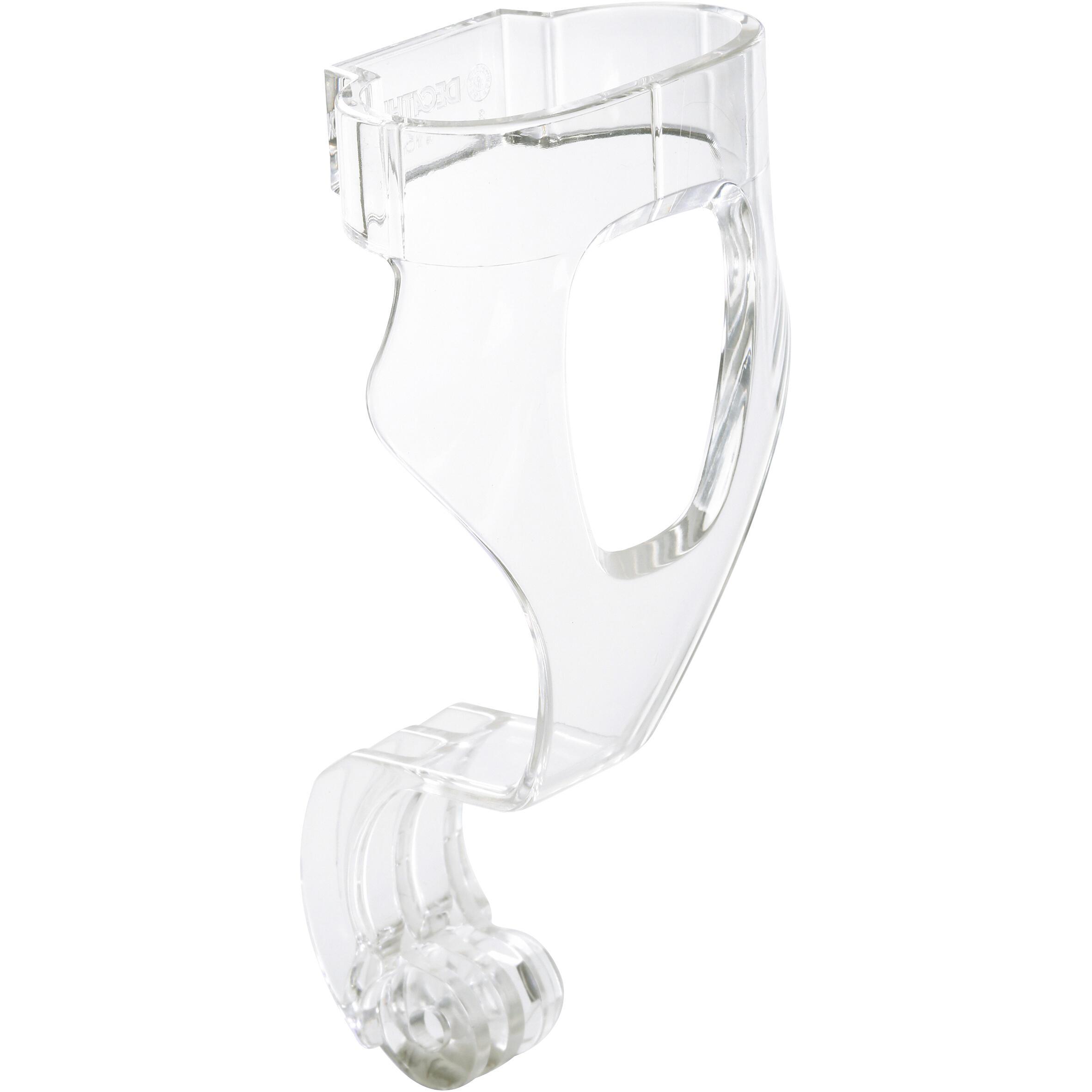 Subea Camerabevestiging voor snorkelmasker Easybreath transparant met moer. kopen
