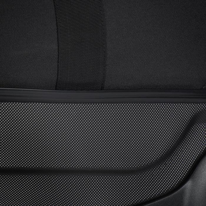 Tauchtasche Reisetasche 90l mit Rollen Hartschale Gerätetauchen schwarz/blau