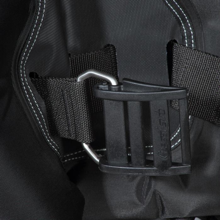 Gilet stabilisateur de voyage plongée bouteille Ultralight noir - 1161716