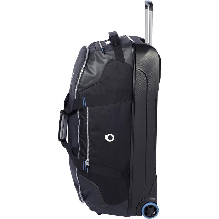 Sac de voyage de plongée bouteille coque rigide SCD 90 L noir/bleu - 1161719