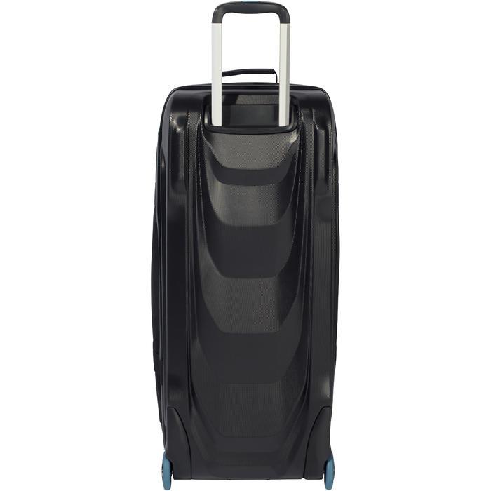 Sac de voyage de plongée bouteille coque rigide SCD 90 L noir/bleu - 1161749