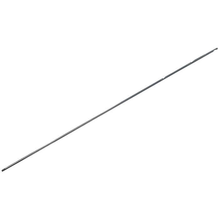 Flecha de rosca para fusil de pesca submarina de acero inox., 6,5 mm, rosca M7.