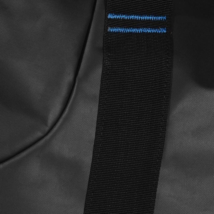 Sac de voyage de plongée sous-marine bouteille coque rigide SCD 120 L noir/bleu - 1161762