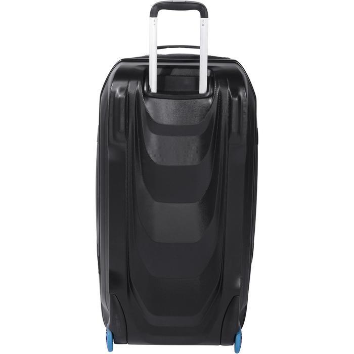 Sac de voyage de plongée à roulettes coque rigide SCD 120 L trolley noir/bleu