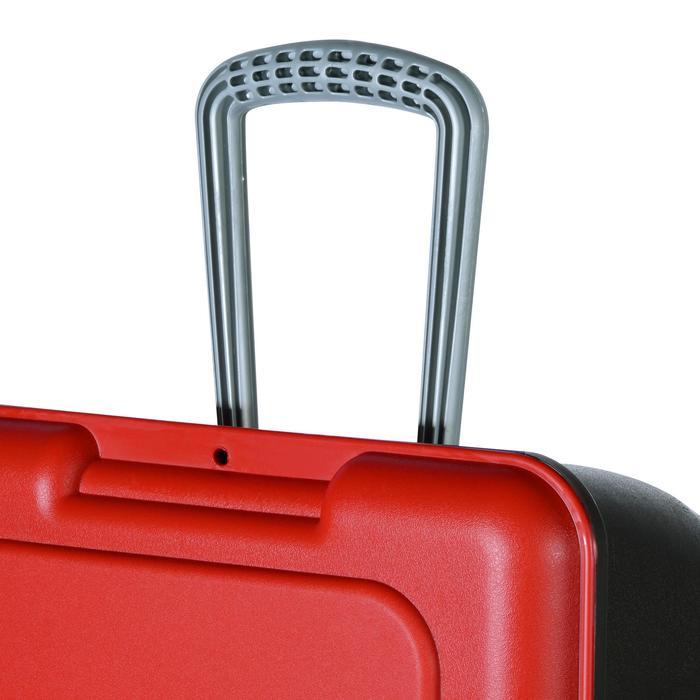 Malle de transport de plongée Discover 80 L noir/rouge - 1161768