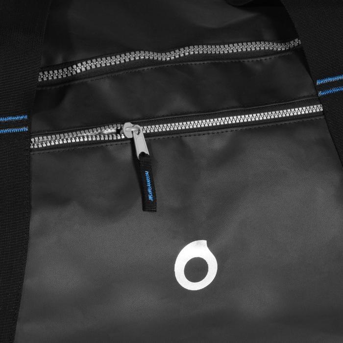Sac de voyage de plongée sous-marine bouteille coque rigide SCD 120 L noir/bleu - 1161789