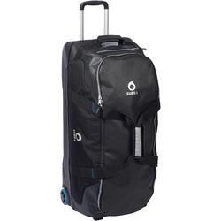 Tauchtasche Reisetasche 90L Trolley Hartschale schwarz/blau