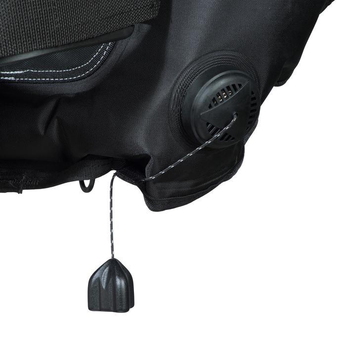 Gilet stabilisateur de voyage plongée bouteille Ultralight noir - 1161805